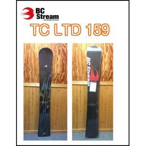 09-10モデル BC STREAM ビーシーストリーム TC LTD 159cm アルパインボード 正規品|dreamy1117