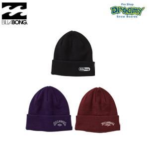 BILLABONG ビラボン EDGE AJ012909 メンズ ビーニーロールアップ  ロゴ 刺繍 アクリル ニット帽 シンプル ニットキャップ 帽子 2019 秋冬モデル正規品|dreamy1117