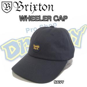 BRIXTON ブリクストン WHEELER CAP ワンサイズ キャップ 帽子 西海岸 カリフォルニア サーフィン|dreamy1117