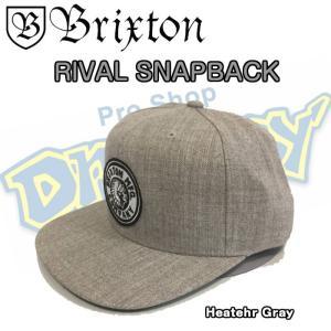 BRIXTON ブリクストン RIVAL SNAPBACK スナップバック ワンサイズ キャップ 帽子 西海岸 カリフォルニア サーフィン|dreamy1117