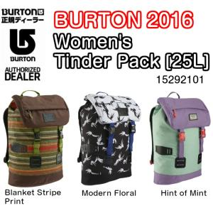 BURTON バートン Women's Tinder Pack [25L] 15292101 バックパック リュック バッグ レディス 2016モデル 正規品|dreamy1117