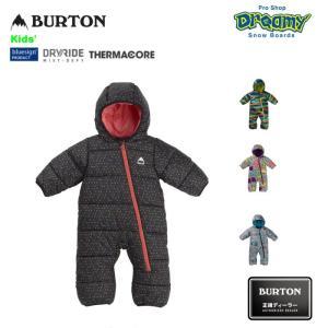 BURTON バートン Toddler Infant Buddy Bunting Suit 171481 ベビー スノースーツ DRYRIDE 撥水加工 フリースライナー クロスボディジップ キッズ 19-20 正規品 dreamy1117