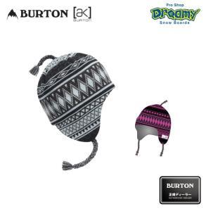 BURTON バートン AK457 Earflap Beanie 174381イヤーフラップビーニー ロゴ  タイベックラベル 天竺編みライナー ニットキャップ スノーボード 2019-2020 正規品|dreamy1117
