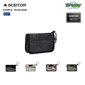BURTON バートン JPN Zip Pass Wallet 153901 パスウォレット コインポケット リフト券 止水ジップ カードスロット カラビナ付属 財布 bluesign 2019-20 正規品|dreamy1117