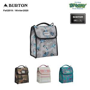 BURTON バートン Lunch Sack 173051 ランチバッグ 6L 保温効果 ベルクロクロージャー クーラーライナー ボトルポケット カラビナ付属 bluesign 2019-2020 正規品|dreamy1117