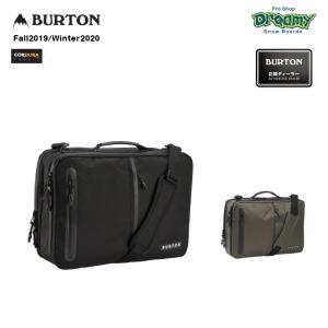 BURTON バートン Switchup Backpack 185191 ブリーフケース 22L 3ウェイ Cordura ノートPC収納 タブレットスリーブ 耐水PUジップ CRAMゾーン 2019-2020 正規品|dreamy1117
