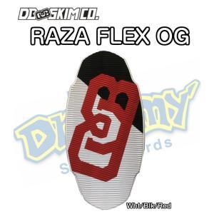 DB ディービー Raza FLEX Original Wht/Blk/Red ラザ Adrien Raza 3枚層 軽量モデル FLATSKIM フラットスキム スキムボード プロモデル dreamy1117