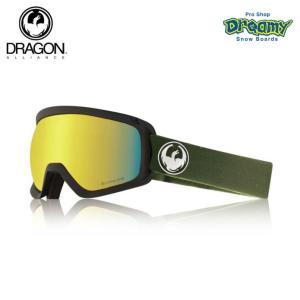 DRAGON ドラゴン D3  OLIVE GREEN E13 LUMALENS J.GOLD ION 球面レンズ ルーマレンズ スーパーアンチフォグ2.0 スノーゴーグル 2018-19モデル 正規品|dreamy1117