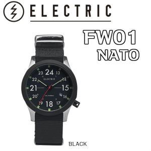ELECTRIC エレクトリック FW01 NATO 時計 ウォッチ BLACK 正規|dreamy1117