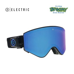 ELECTRIC エレクトリック LECTRON エレクトロン MATTE BLACK BLUE CHROME 19ENMB EG7618101 スノーボード ゴーグル dreamy1117