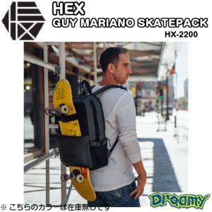 HEX GUYMARIANO SKATEPACK ヘックス ガイマリア−ノスケ−トパック BACKPACK SKATE SKATEBOARD アウトドア スケ−トHX2200 2019 正規品|dreamy1117