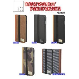 HEX(ヘックス)ICON WALLET FOR IPHONE6 アイフォン6 ケース カバー HX1750 レザー ハードケース|dreamy1117