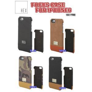 HEX(ヘックス)FOCUS CASE FOR IPHONE6 アイフォン6 ケース カバー HX1752 レザー ハードケース|dreamy1117