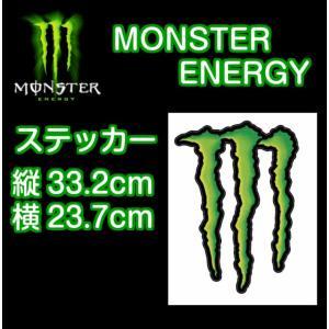 MONSTER ENERGY モンスターエナジー ステッカー D-1 33.2cm×23.7cm 正規品 dreamy1117