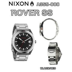 NIXON(ニクソン)NIXON(ニクソン)ROVER SS(ローバーエスエス)BLACK/RED A359-008 正規品 時計 ウォッチ|dreamy1117