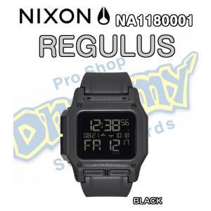 NIXON ニクソン THE REGULUS レグルス NA1180001-00 BLACK 防水 耐衝撃 デジタルウォッチ 腕時計 ウォッチ 正規品|dreamy1117