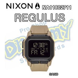 NIXON ニクソン THE REGULUS レグルス NA11802711-00 SAND 防水 耐衝撃 デジタルウォッチ 腕時計 ウォッチ 正規品|dreamy1117