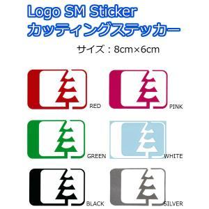 NORTH WEST RIDERS(ノースウエストライダース) カッティングステッカー LOGO SM Sticker ロゴステッカー 8cm×6cm|dreamy1117
