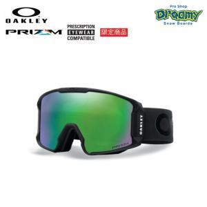 OAKLEY オークリー スノーゴーグル 限定 LINE MINER 眼鏡対応 ジャパンフィットフォーム PRIZM Plutonite製平面レンズ  70700301 2019-2020モデル 正規品|dreamy1117