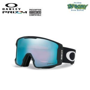 OAKLEY オークリー スノーゴーグル LINE MINER 眼鏡対応 ジャパンフィットフォーム PRIZM Plutonite製平面レンズ  70700401 2019-2020モデル 正規品|dreamy1117