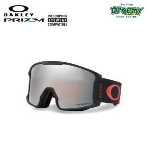 OAKLEY オークリー スノーゴーグル LINE MINER 眼鏡対応 ジャパンフィットフォーム PRIZM Plutonite製平面レンズ  70704101 2019-2020モデル 正規品|dreamy1117