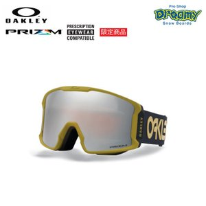 OAKLEY オークリー スノーゴーグル 限定 LINE MINER 眼鏡対応 ジャパンフィットフォーム PRIZM Plutonite製平面レンズ  70704601 2019-2020モデル 正規品|dreamy1117