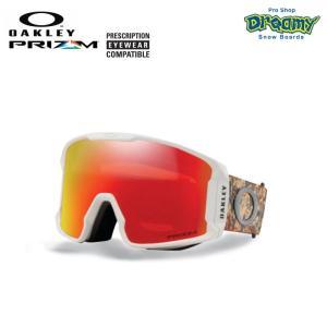 OAKLEY オークリー スノーゴーグル LINE MINER 眼鏡対応 ジャパンフィットフォーム PRIZM Plutonite製平面レンズ  70705401 2019-2020モデル 正規品|dreamy1117