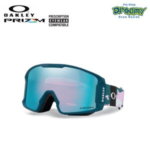 OAKLEY オークリー スノーゴーグル LINE MINER XM ミディアムサイズ 眼鏡対応 ジャパンフィット PRIZM Plutonite製平面レンズ 70931900 2019-2020モデル 正規品|dreamy1117