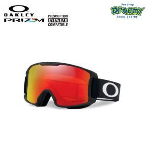 OAKLEY オークリー スノーゴーグル LINE MINER YOUTH ユース 眼鏡対応 ジャパンフィット PRIZM Plutonite製平面レンズ キッズ 70950300 2019-2020モデル 正規品|dreamy1117