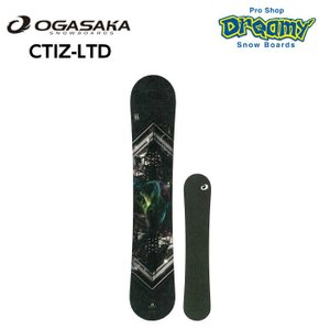 2019-2020 OGASAKA オガサカ CT-IZL コンフォートターンIZ メンズ レディース カービング フリーラン スノーボード 国産 板 正規品|dreamy1117