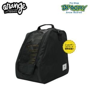 ORAN'GE オレンジ #040119_Mesh boots bag 1001_BLACK ブーツバッグ メッシュ ショルダーストラップ付属 ダブルファスナー 2019モデル 正規品 dreamy1117