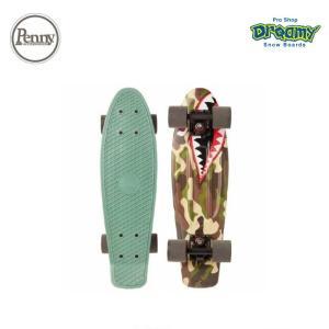 Penny ペニースケートボード SHARK BOMBER 0PGR3 22インチ グラフィックシリーズ  特殊プラスティック ウィール59mm 2019fwモデル 正規品 dreamy1117