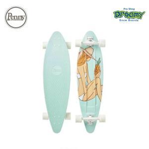 Penny ペニースケートボード TROPICA 2LPG1 数量限定 36インチ ピンテール ロングボード 特殊プラスティック アンディ・デイビス コラボ 2019fwモデル 正規品 dreamy1117