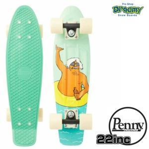 Penny ペニースケートボード CHUCK SHAKA 数量限定 22インチ クルーザー アンディ・デイビス コラボモデル 特殊プラスティック デッキ 0PGR3-chuckshaka 正規品 dreamy1117