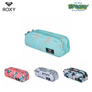 ROXY ロキシー DA ROCK ERJAA03612 ペンケース 2層式 ロゴ パッチ 自立 大容量 ジップクロージャー BJG6 MKJ8 SGR6 XKBM 2019 FALL&WINTERモデル 正規品|dreamy1117