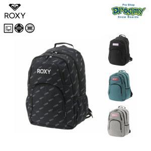 ROXY ロキシー GO OUT RBG194300 バックパック 25L ラップトップスリーブ 保冷ポケット サイドポケット チェストストラップ ロゴ 2019 FALL&WINTER 正規品|dreamy1117