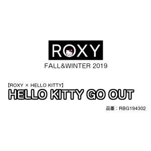 ROXY× HELLO KITTY  ロキシー ハローキティ コラボHELLO KITTY GO OUT RBG194302 バックパック 保冷ポケット ロゴ リュック 2019 FALL&WINTERモデル 正規品|dreamy1117|02