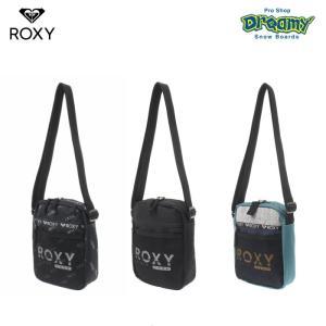 ROXY ロキシー FUTURE RBG194314 ミニ ショルダーバッグ メッシュポケット アジャスター付き ストラップ ロゴ 2019 FALL&WINTERモデル 正規品|dreamy1117