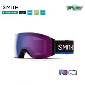 SMITH スミス スノーゴーグル Early Goggle I/O MAG XL SMITHxTHE NORTH FACE/Blue 調光 オリジナルケース レンズ2枚  眼鏡対応 010260001 19/20モデル 正規品|dreamy1117