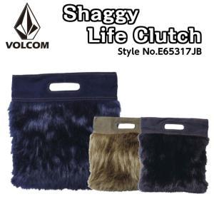 Volcom ボルコム SHAGGY LIFE CLUTCH クラッチバッグ E65317JB NVY BLK MIL ネイビー 黒 スケート 2017モデル FALL 正規品|dreamy1117