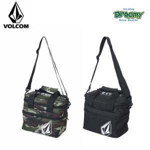 VOLCOM ボルコム 保冷バッグ Pistol Picnic Box 容量:8L 取り外し可能 ショルダーストラップ ロゴ D65119JB CAM BLK 2019 SPRING モデル 正規品|dreamy1117