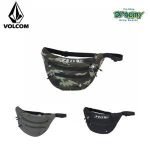 VOLCOM ボルコム ウエストバッグ Pistol Picnic Box 容量:3.5L ボディバッグ ロゴ D65119JC CAM OLV BLK 2019 SPRING モデル 正規品|dreamy1117