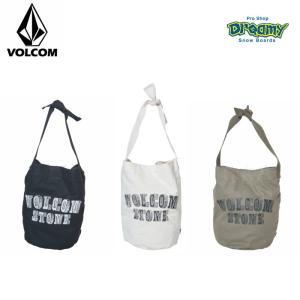 VOLCOM ボルコム トートバッグ Vol Trip Bucket Tote 調整可能 ストラップ マグネットホック付き ロゴ E65119JC BLK WHT OLV 2019 SPRING モデル 正規品|dreamy1117