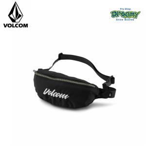 VOLCOM ボルコム レディース ウエストバッグ Takeaway Stone ボディーバッグ ウエストベルト調整可能 ロゴ E6711950 BLK 2019 SPRING モデル 正規品|dreamy1117