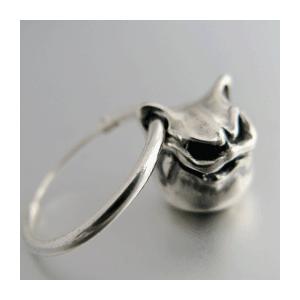 KAGEMARU DESIGNS カゲマルデザイン cpi001プチプチキャドラピアス 1個 silver925|dredline