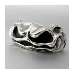【送料無料】 KAGEMARU DESIGNS カゲマルデザイン cr005 ピンキーキャドラリング シルバーリング silver925|dredline