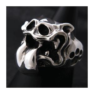 【送料無料】 KAGEMARU DESIGNS カゲマルデザイン cr006 ベロキャドラPOPリング シルバーリング silver925|dredline