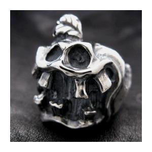 【送料無料】 KAGEMARU DESIGNS カゲマルデザイン cr007 アップルモンスターリング シルバーリング silver925|dredline
