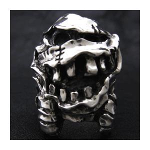 【送料無料】 KAGEMARU DESIGNS カゲマルデザイン cr008 マミーマンリング シルバーリング silver925|dredline
