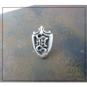 (送料無料) drive ドライヴ pin-11 エンブレムピンバッジ silver925|dredline